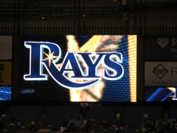 Rays, Tropicana Field, St Petersburg, Florida