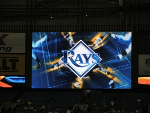 Tampa Bay Rays, Tropicana Field, St Petersburg, Florida