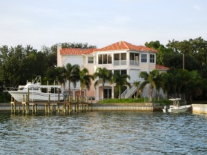 Waterfront home in St Pete Beach area