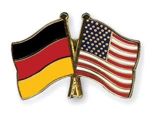Germany-USA flags