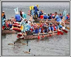 Dragon Boats in St Pete, FL