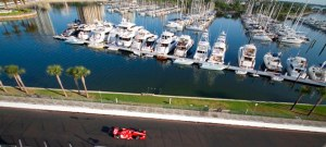 Honda Grand Prix of St Petersburg with the St Pete Yacht Club