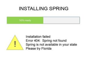 Please try Florida