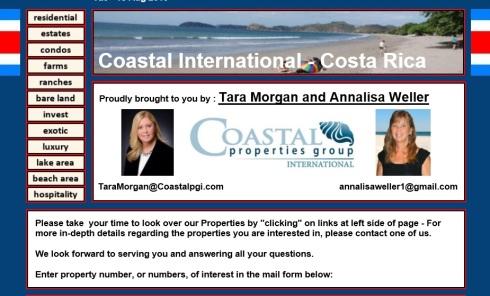 Costa Rica Website