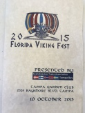 Viking Fest program