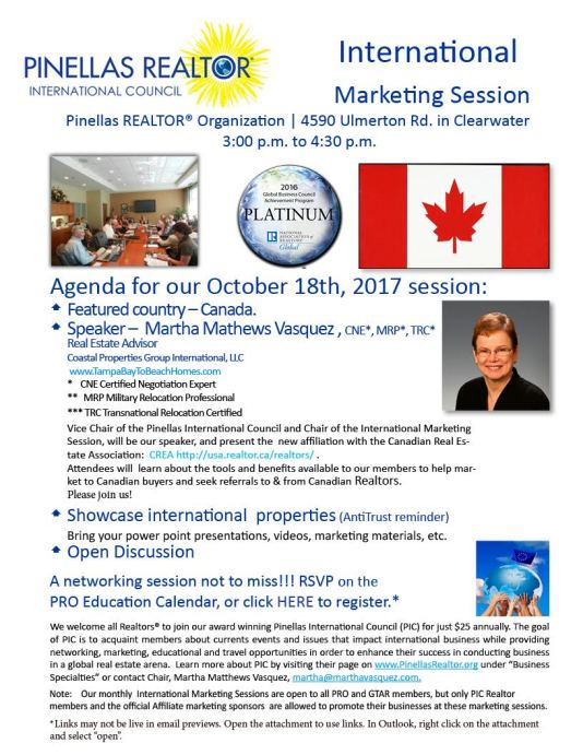 Oct Marketing Session-Canada