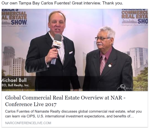 Carlos NAR Commercial-CIPS interview