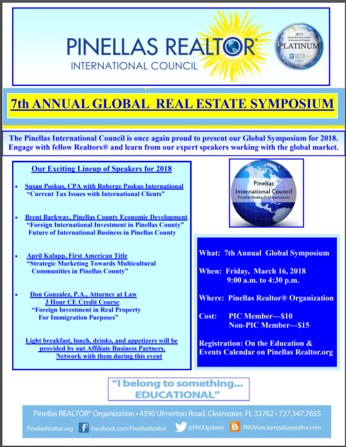 7th Annual Global Symposium 3-16-18