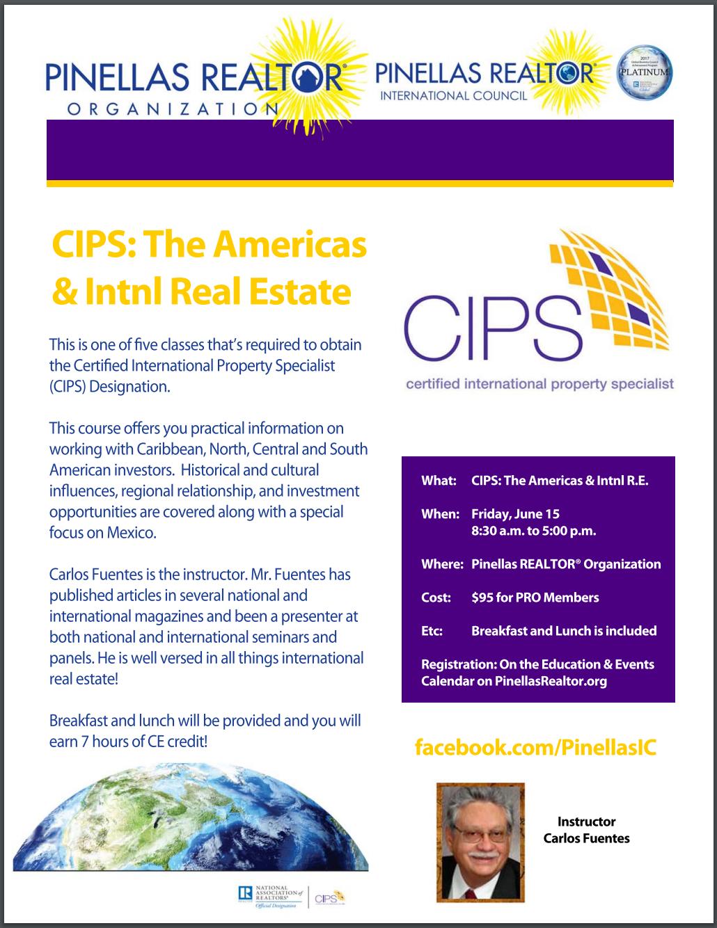 CIPS Americas June 15, 2018 Carlos Fuentes
