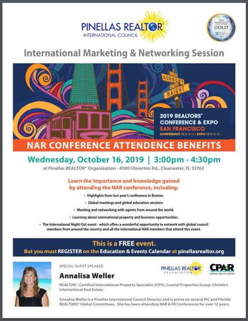 Oct 16, 2019 Marketing Session NAR Annalisa
