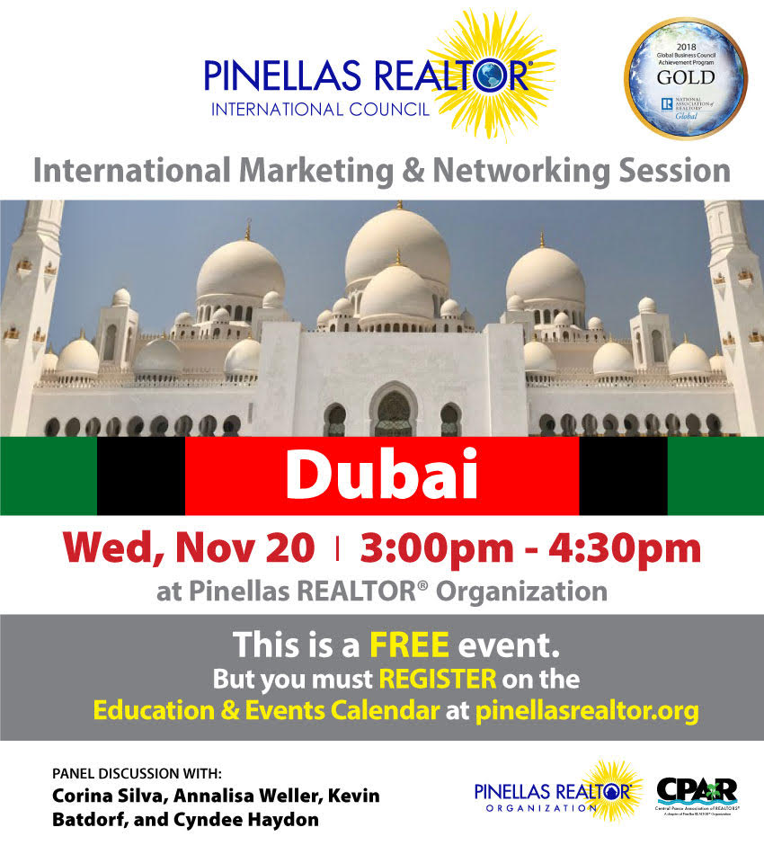 Dubai Nov marketing session flyer